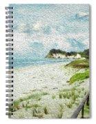 Wild Coastline Spiral Notebook