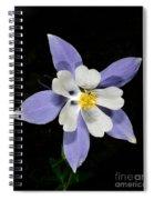 Wild Columbine Spiral Notebook