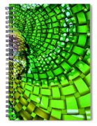 Wild Curves Abstract Spiral Notebook