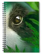 Wild Eyes - Giant Panda Spiral Notebook