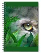Wild Eyes - Snow Leopard Spiral Notebook