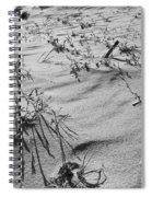Wild Flora And Dunes Spiral Notebook