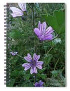 Wild Flowers 2 Spiral Notebook
