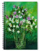 Wild Flowers 450150 Spiral Notebook