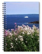 Wild Flowers And Iceberg Spiral Notebook