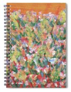 Blooming With Joy Spiral Notebook
