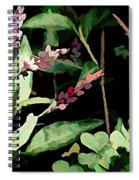 Wild Flowers In Pastel Spiral Notebook