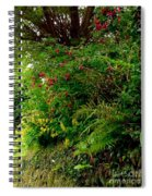 Wild Flowers On The Cliff Path Spiral Notebook