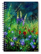 Wild Flowers Spiral Notebook