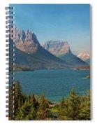 Wild Goose Island - Glacier National Park Spiral Notebook