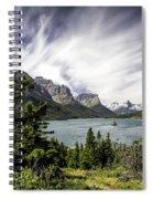 Wild Goose Island Glacier Park 2 Spiral Notebook