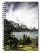 Wild Goose Island Glacier Park 4 Spiral Notebook