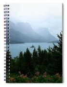 Wild Goose Island In The Rain Spiral Notebook