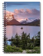 Wild Goose Island Morning 1 Spiral Notebook