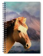 Wild Horse - Painting Spiral Notebook