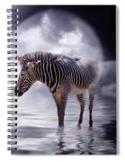 Wild In The Moonlight Spiral Notebook