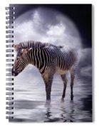 Wild In The Moonlight Spiral Notebook