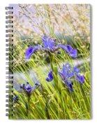 Wild Irises Spiral Notebook