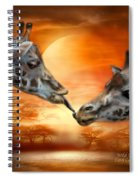 Wild Kisses Spiral Notebook