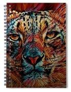Wild Leopard Spiral Notebook