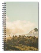 Wild Morning Peak Spiral Notebook