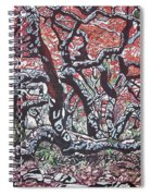 Wild Msasa Spiral Notebook