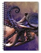 Wild Octopus Spiral Notebook