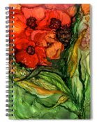 Wild Poppies - Organica Spiral Notebook
