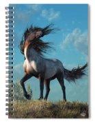 Wild Roan Spiral Notebook