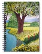 Wild Rose Creek Spiral Notebook