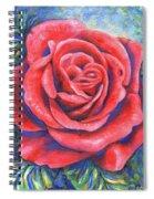 Wild Rose Three Spiral Notebook