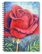 Wild Rose Two Spiral Notebook