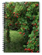 Wild Rosehips Spiral Notebook