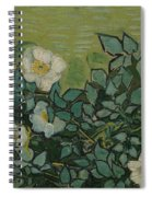 Wild Roses Saint-remy-de-provence, May-june 1889 Vincent Van Gogh 1853 - 1890 Spiral Notebook