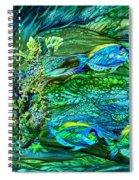 Wild Sargasso Sea Spiral Notebook