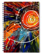 Wild Sunflower 2 Spiral Notebook