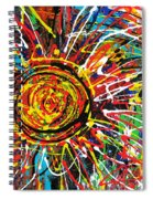 Wild Sunflowers 3 Spiral Notebook