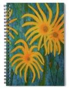 Wild Sunflowers Spiral Notebook