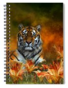 Wild Tigers Spiral Notebook