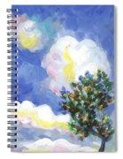 Wild Vineyard Quadriptych Part One Spiral Notebook