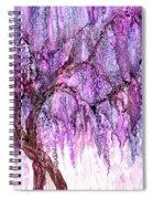Wild Wisteria Spiral Notebook
