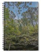 Wildcat Den Cliffs And Trees In Fall Spiral Notebook