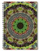 Wilder Flower Mandala Spiral Notebook