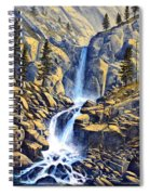 Wilderness Waterfall Spiral Notebook