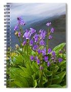 Wildflower Cascade Spiral Notebook