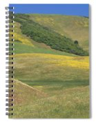 Wildflower Display - Salisbury Potrero Spiral Notebook