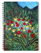 Wildflower Garden 1 Spiral Notebook