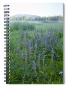 Wildflower Meadow Spiral Notebook