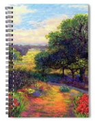Wildflower Meadows Of Color And Joy Spiral Notebook