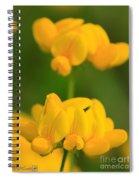 Wildflower Named Birdsfoot Trefoil Spiral Notebook